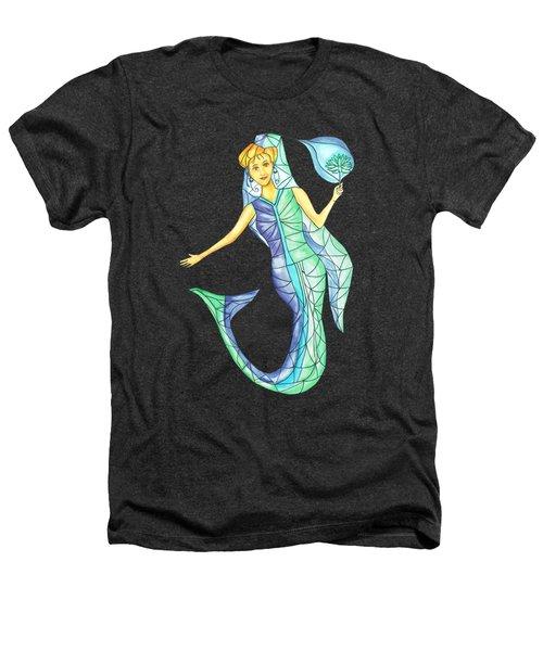 Mermaid Stories B Heathers T-Shirt by Thecla Correya