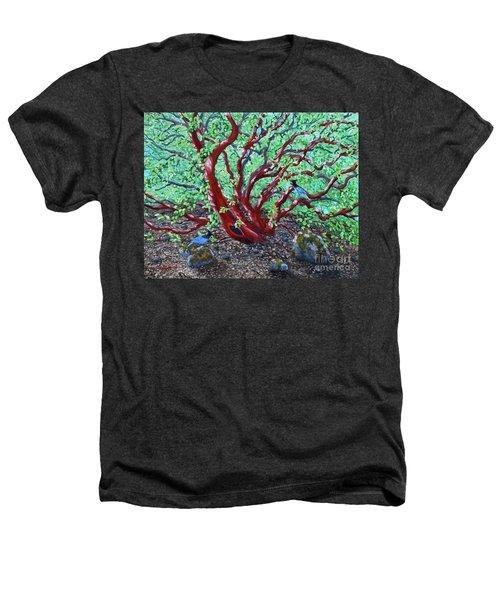 Morning Manzanita Heathers T-Shirt by Laura Iverson