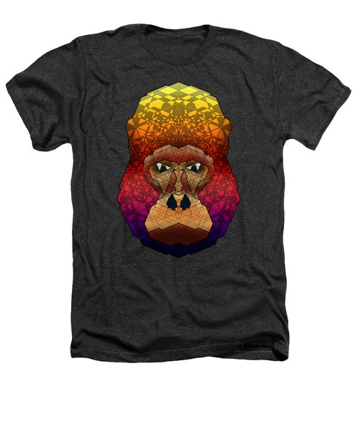 Mountain Gorilla Heathers T-Shirt by Dusty Conley