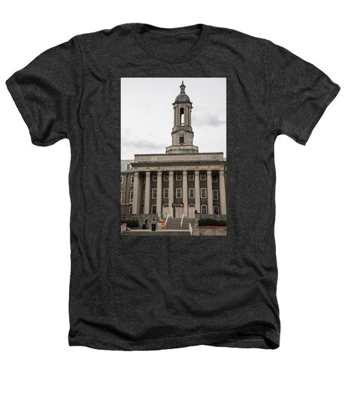 Old Main Penn State From Front  Heathers T-Shirt by John McGraw