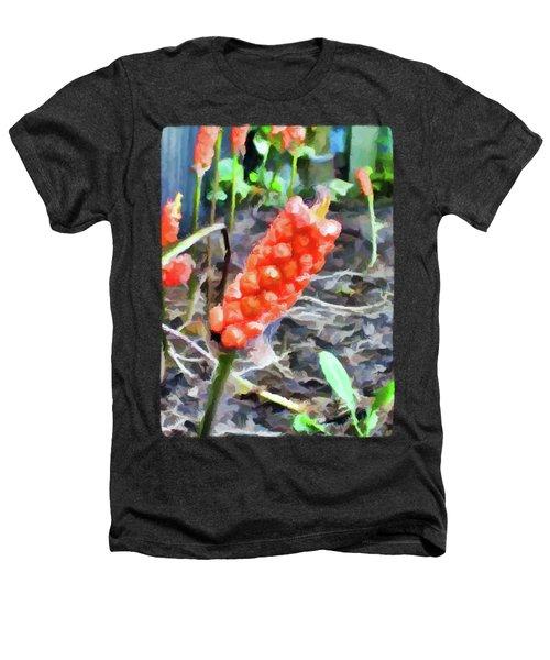 Orange Things In The Corner Heathers T-Shirt by Jackie VanO