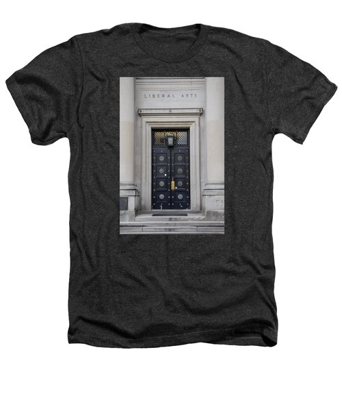 Penn State University Liberal Arts Door  Heathers T-Shirt by John McGraw