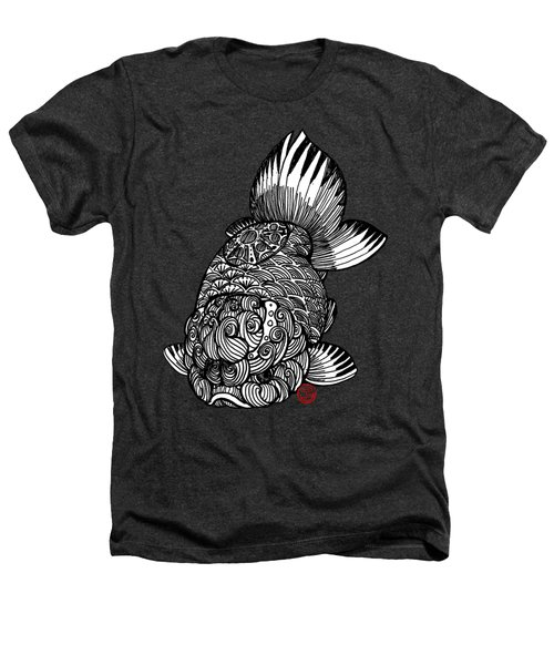 Ranchu Heathers T-Shirt by Shih Chang Yang