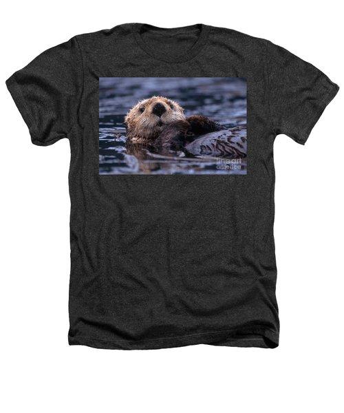 Sea Otter Heathers T-Shirt by Yva Momatiuk and John Eastcott and Photo Researchers