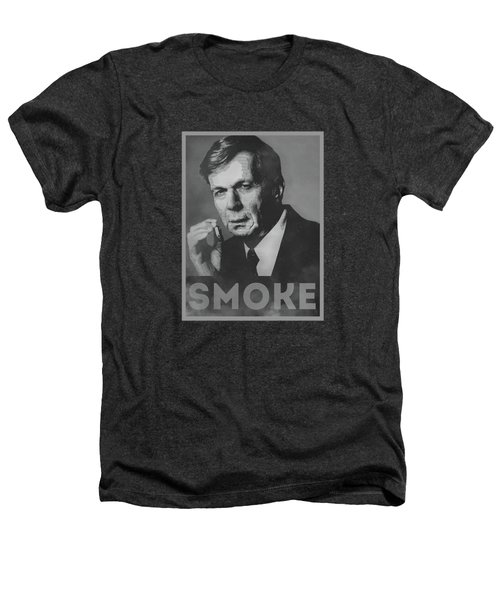 Smoke Funny Obama Hope Parody Smoking Man Heathers T-Shirt by Philipp Rietz
