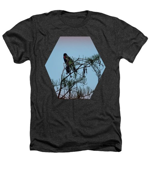 Stillness Heathers T-Shirt by Jim Hill