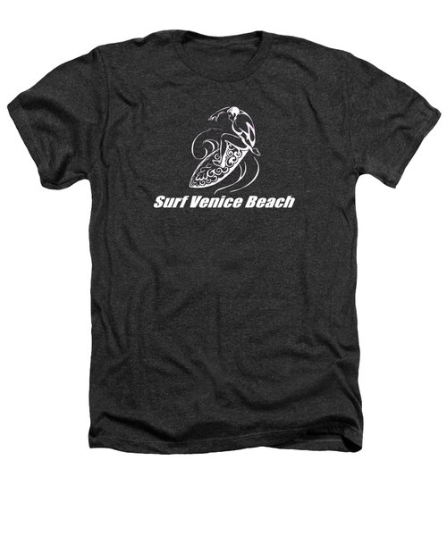 Surf Venice Beach Heathers T-Shirt by Brian Edward