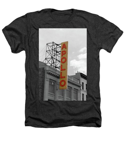 The Apollo In Harlem Heathers T-Shirt by Danny Thomas