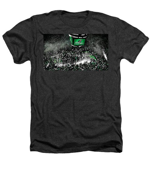 The Boston Celtics 2008 Nba Finals Heathers T-Shirt by Brian Reaves