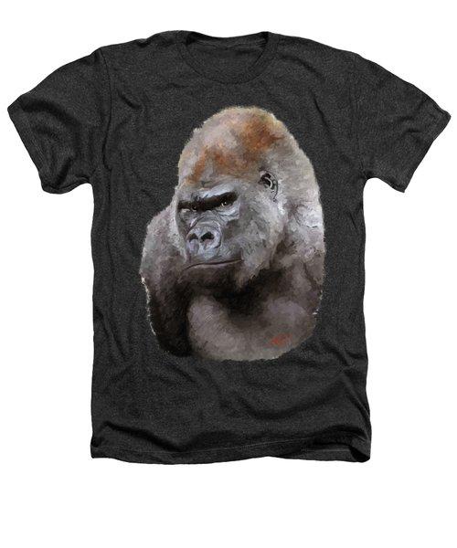 U Lookin At Me Heathers T-Shirt by James Shepherd