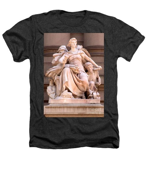U S Custom House 4 Heathers T-Shirt by Randall Weidner