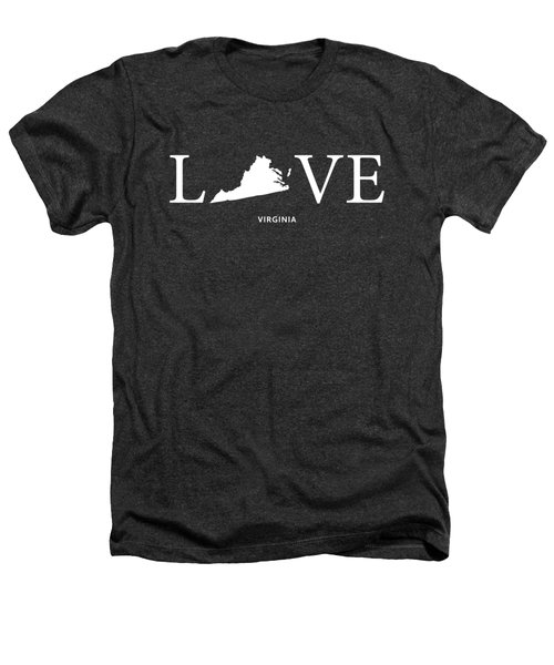 Va Love Heathers T-Shirt by Nancy Ingersoll