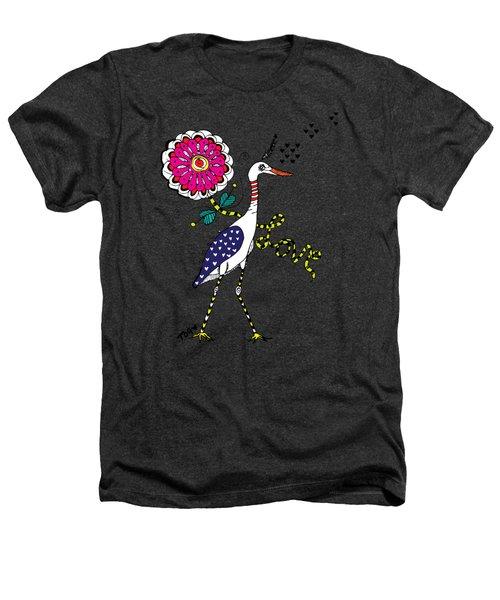Weak Coffee Lovebird Heathers T-Shirt by Tara Griffin