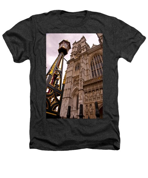 Westminster Abbey London England Heathers T-Shirt by Jon Berghoff