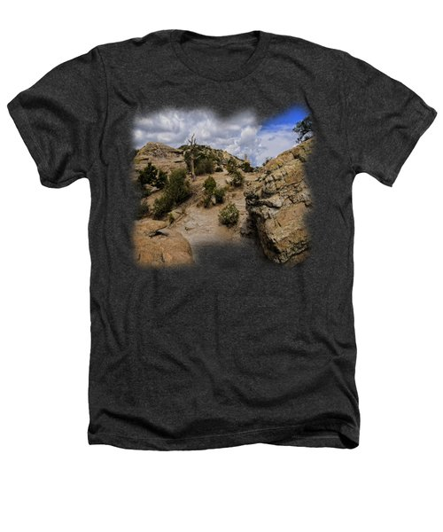 Windy Point No.13 Heathers T-Shirt by Mark Myhaver