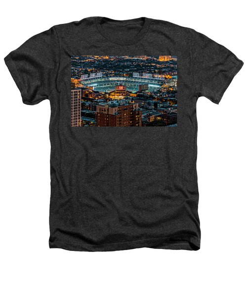 Wrigley Field From Park Place Towers Dsc4678 Heathers T-Shirt by Raymond Kunst