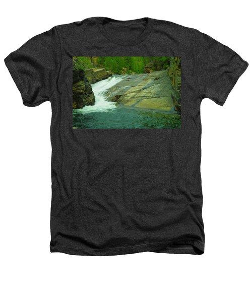Yak Falls   Heathers T-Shirt by Jeff Swan