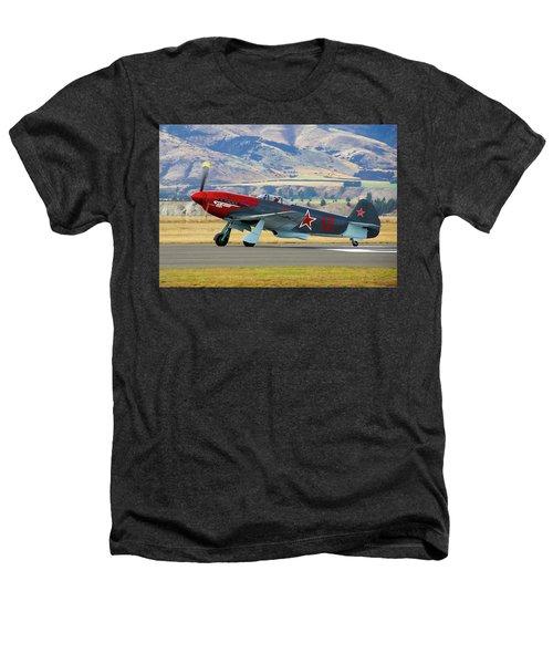 Yakovlev Yak 3-m Heathers T-Shirt by Bernard Spragg