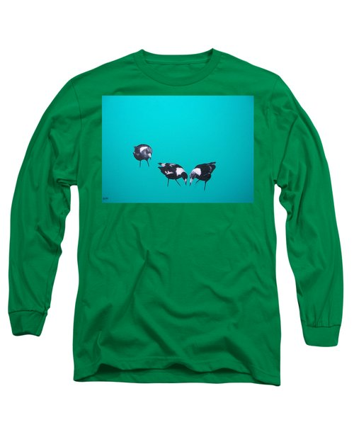 What About Me Long Sleeve T-Shirt by Jan Matson
