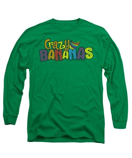 Dubble Bubble - Crazy Bananas Long Sleeve T-Shirt by Brand A
