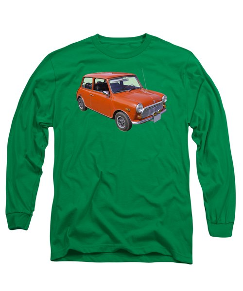 Red Mini Cooper Long Sleeve T-Shirt by Keith Webber Jr