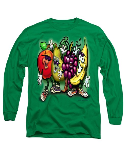 Fruits Long Sleeve T-Shirt by Kevin Middleton
