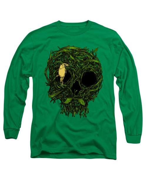 Skull Nest Long Sleeve T-Shirt by Carbine