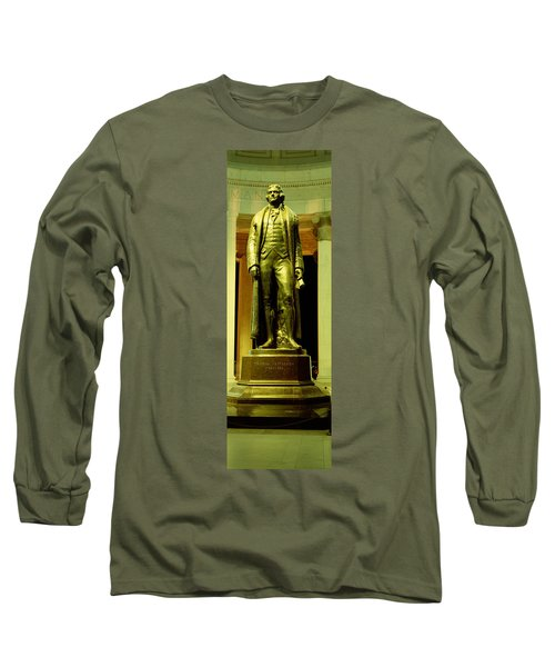 Jefferson Memorial, Washington Dc Long Sleeve T-Shirt by Panoramic Images