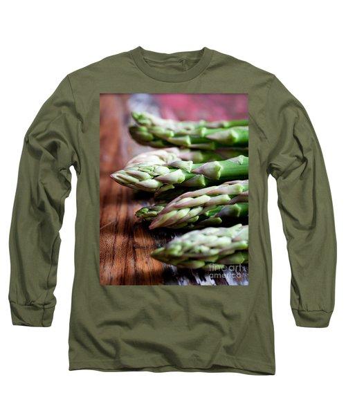 Asparagus Long Sleeve T-Shirt by Kati Molin