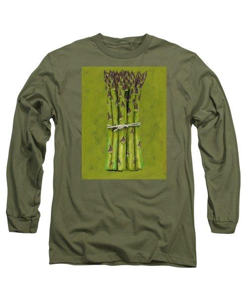 Asparagus Long Sleeve T-Shirt by Brian James