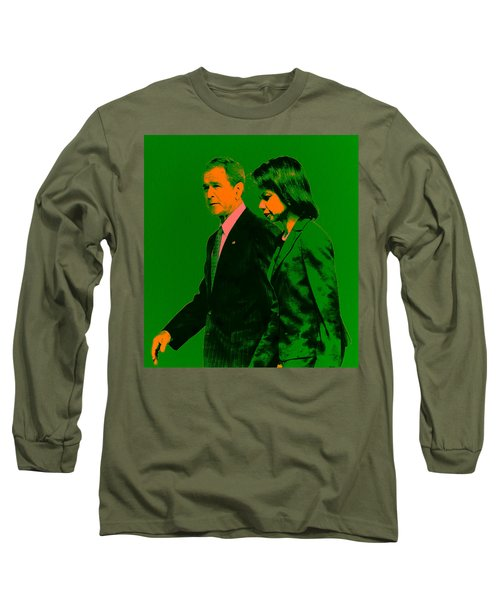 Bush And Rice Long Sleeve T-Shirt by Brian Reaves