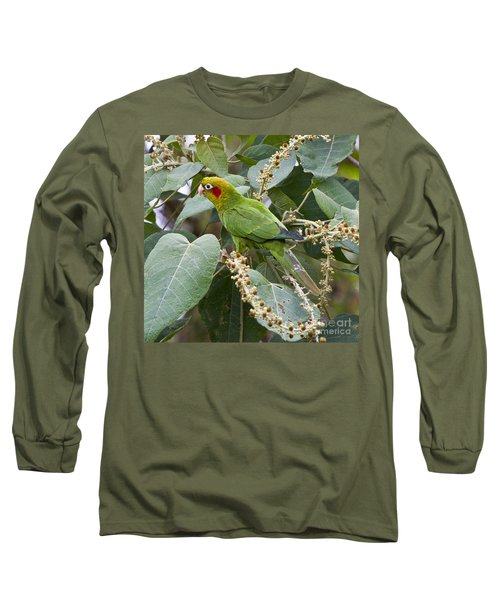 Chiriqui Conure 2 Long Sleeve T-Shirt by Heiko Koehrer-Wagner