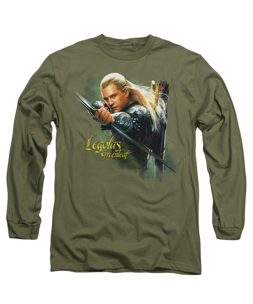Hobbit - Legolas Greenleaf Long Sleeve T-Shirt by Brand A