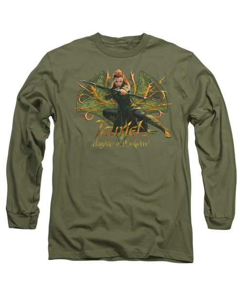 Hobbit - Tauriel Long Sleeve T-Shirt by Brand A