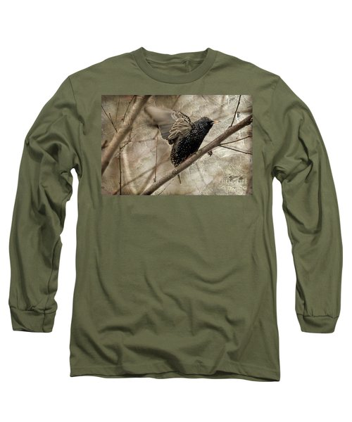 I'm Outta Here Long Sleeve T-Shirt by Lois Bryan