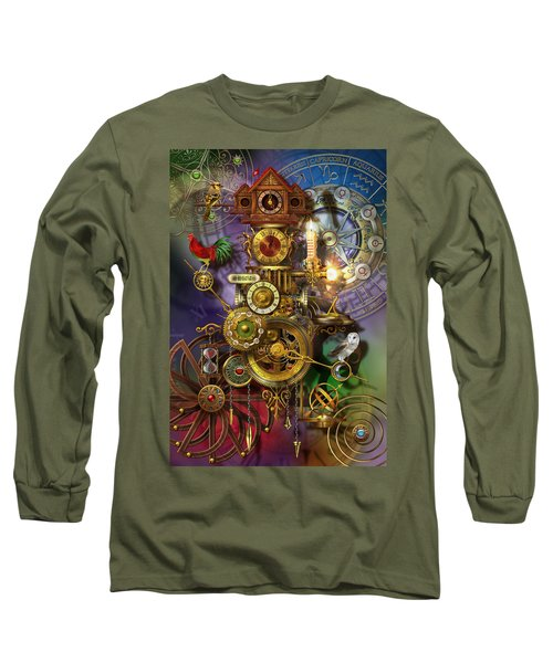 Its About Time Long Sleeve T-Shirt by Ciro Marchetti