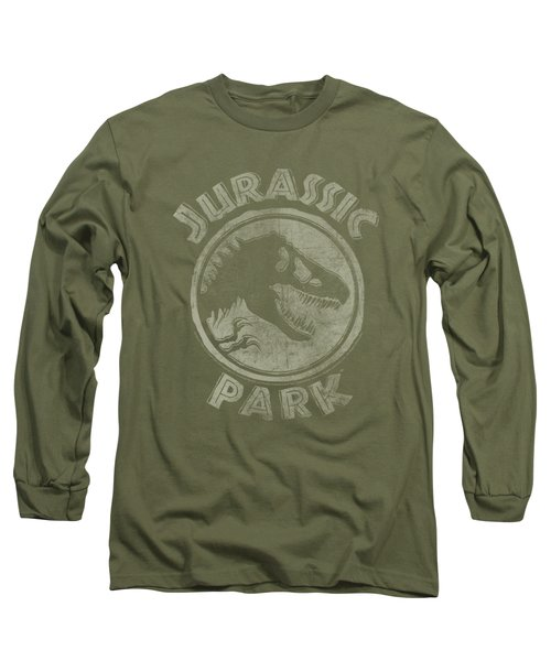 Jurassic Park - Jp Stamp Long Sleeve T-Shirt by Brand A