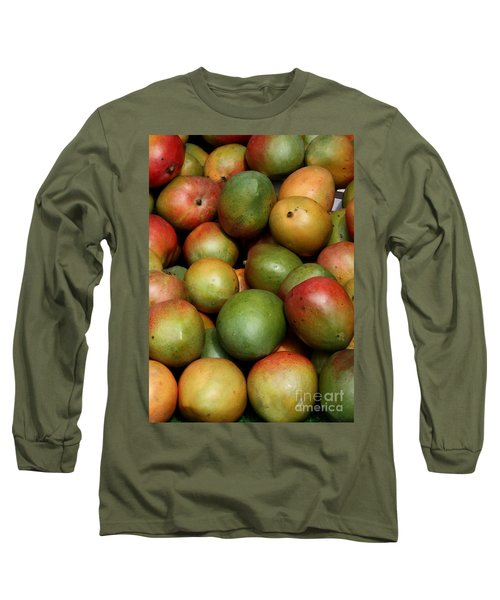 Mangoes Long Sleeve T-Shirt by Carol Groenen