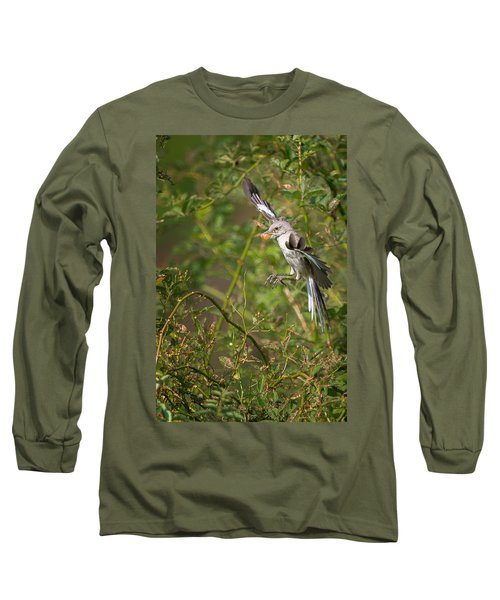 Mockingbird Long Sleeve T-Shirt by Bill Wakeley