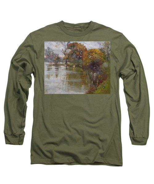 November 4th At Hyde Park Long Sleeve T-Shirt by Ylli Haruni