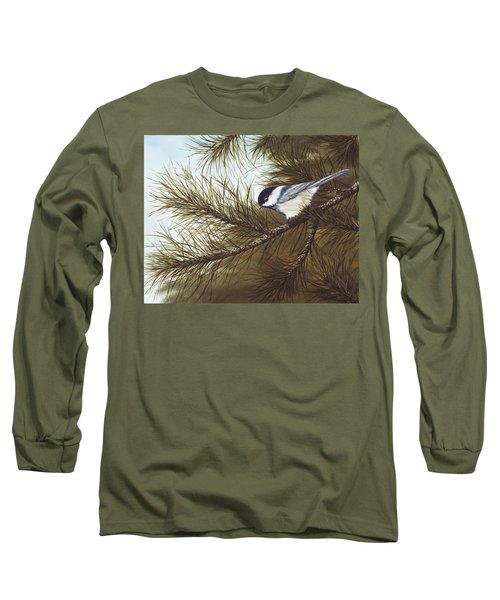 Out On A Limb Long Sleeve T-Shirt by Rick Bainbridge