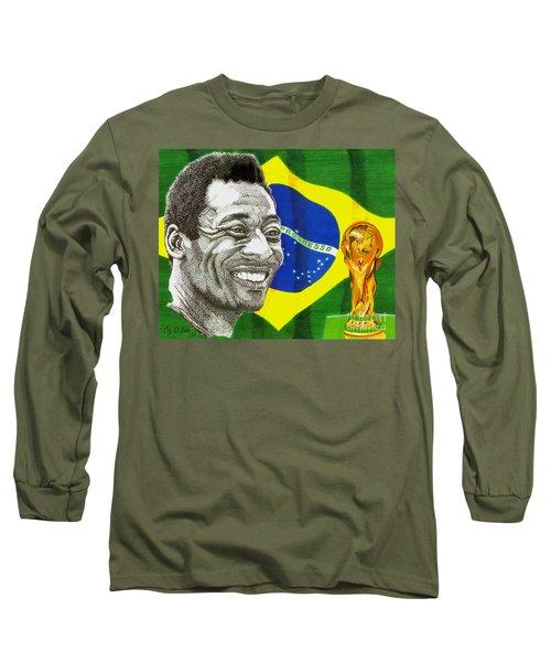 Pele Long Sleeve T-Shirt by Cory Still