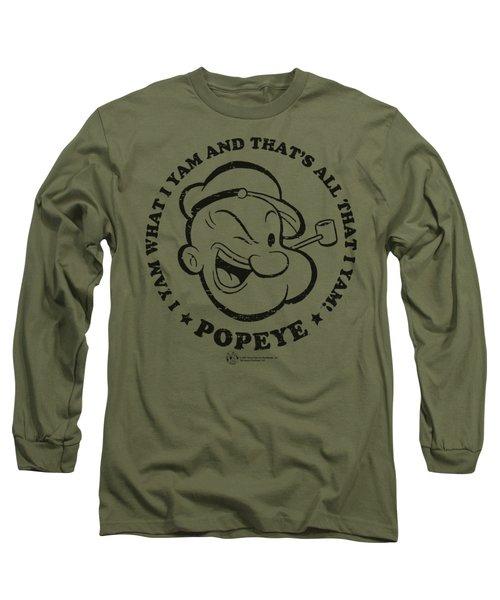 Popeye - I Yam Long Sleeve T-Shirt by Brand A