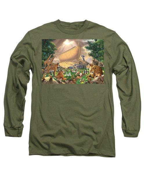 The Gathering Long Sleeve T-Shirt by Chris Heitt