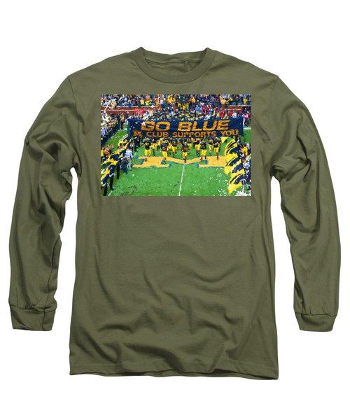 Wolverines Rebirth Long Sleeve T-Shirt by John Farr