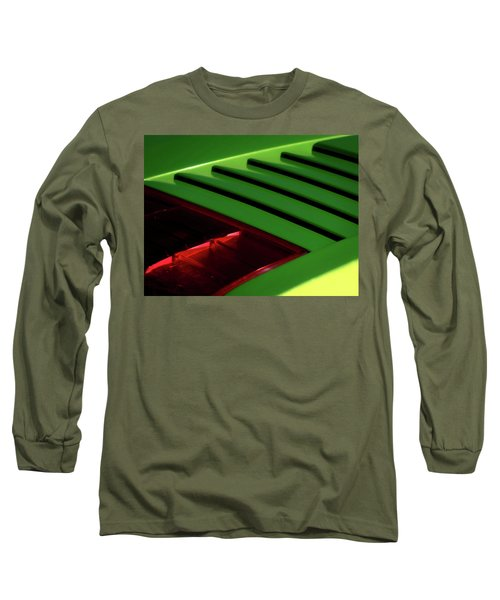 Lime Light Long Sleeve T-Shirt by Douglas Pittman