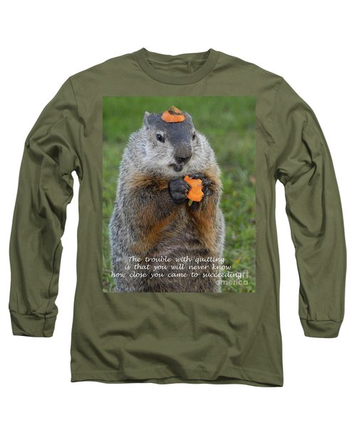 Succeeding Long Sleeve T-Shirt by Paul W Faust -  Impressions of Light