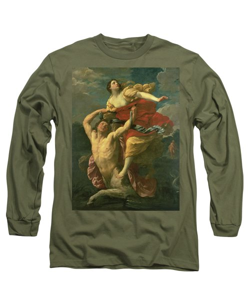 The Abduction Of Deianeira Long Sleeve T-Shirt by  Centaur Nessus