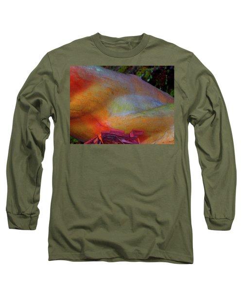 Long Sleeve T-Shirt featuring the digital art Wonder by Richard Laeton