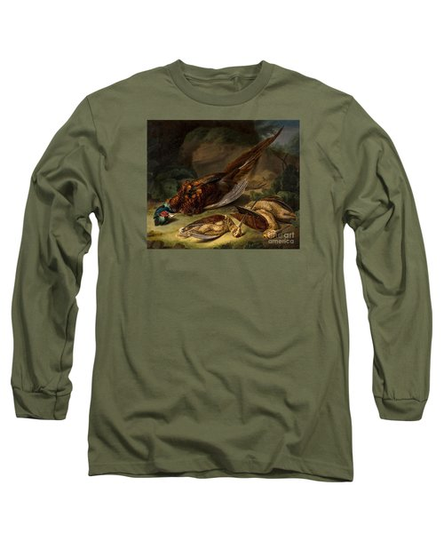 A Dead Pheasant Long Sleeve T-Shirt by Stephen Elmer